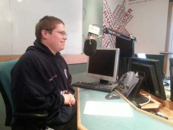Bryan live on BBC Radio Sheffield