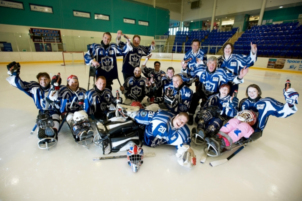MARS Milk Fund 2015 : Sheffield Steelkings Sledge Hockey Club.