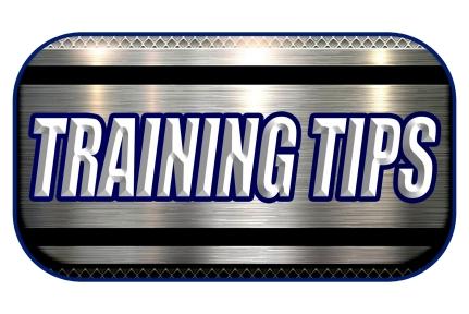 New Training Tips