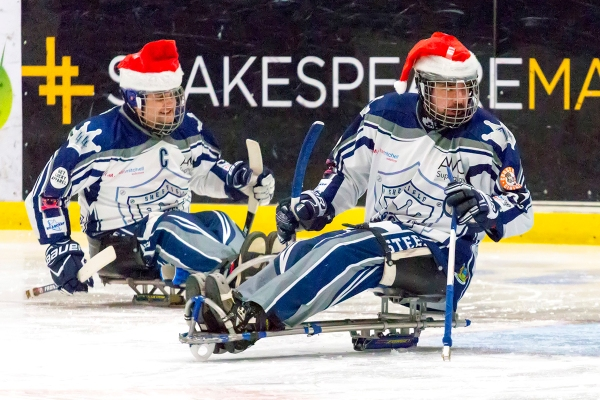 Andrew Jackson and Dave Scivill - Team Santa